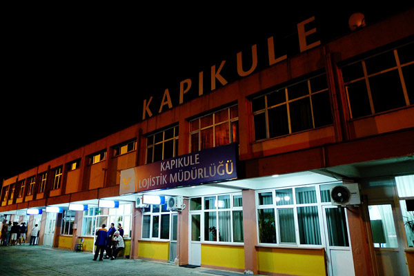 Exiting, Kapikule, Turkey