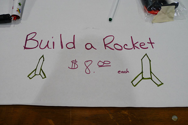 Build a Rocket, Maker Faire, San Francisco, CA